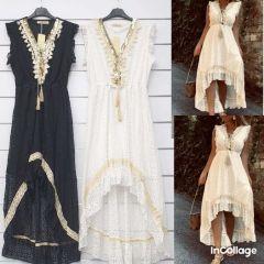 0305 Sukienka damska MG6257 (Produkt Italy)