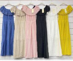 0305 Sukienka damska MG6258 (Produkt Italy)