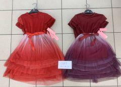 EX2710 Sukienka dziewczęca SK9875-1