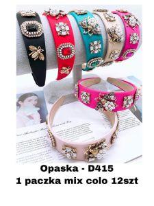 EX1304 Opaska damska D415