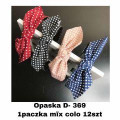 EX1304 Opaska damska D369