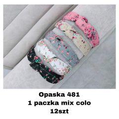 EX0505 Opaska damska OP-481