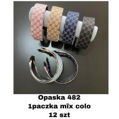 EX0505 Opaska damska OP-482