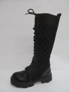 259 Kozaki damskie 8393-PG Black