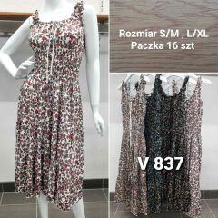 EX0505 Sukienka damska V-837