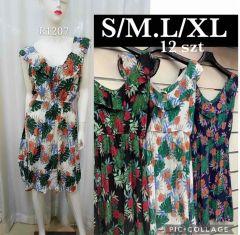 EX2306 Sukienka damska R1207 (Product Italy)