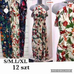 EX2306 Sukienka damska C1911  (Product Italy)