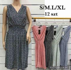 EX2306 Sukienka damska SUZ02  (Product Italy)