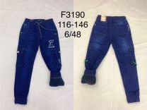 EX1509 Jeansowe dzieciece F3190