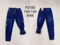 EX1509 Jeansowe dzieciece F3193