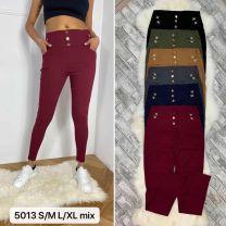 2102 Spodnie damskie 5013Mix