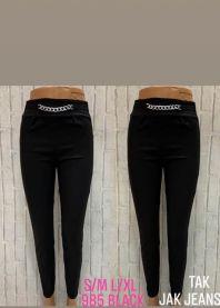 2102 Spodnie damskie 985Black