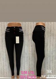 2102 Spodnie damskie 984Black