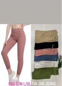 2102 Spodnie damskie 985Mix