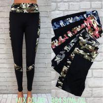 0703 Spodnie damskie 984Mix