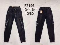 EX1509 Jeansowe dzieciece F3196