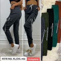 EX1810 Spodnie damskie LG4516-BLACK