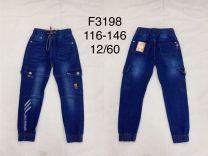 EX1509 Jeansowe dzieciece F3198