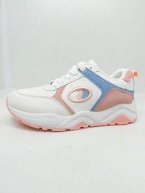 2201 Sportowe damskie  BO-186White/Pink