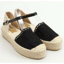 206 Sandały damskie 919-4 BLACK