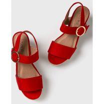 206 Sandały damskie 9K68 RED