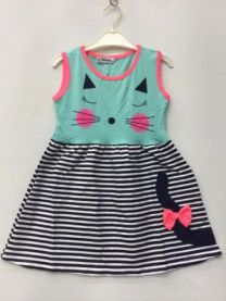 EX1606 Sukienka dziewczęca AT18039-1B