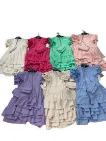 EX1306 Sukienka dziewczęca D-5601