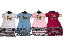 EX1306 Sukienka dziewczęca D-5604