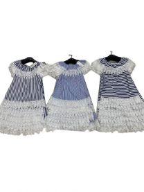 EX1306 Sukienka dziewczęca D-5607