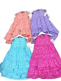 EX1306 Sukienka dziewczęca D-5613