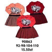 EX1910 Sukienka dziewczęca FRJ90863