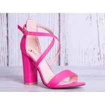 2311 Sandały damskie GG88 FUSHIA