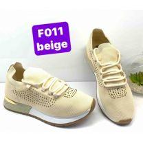 2602 Sportowe damskie F011 Beige