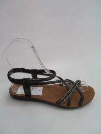 EX2206 Sandały damskie 6602BLACK