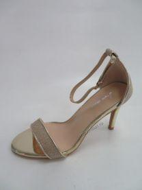 EX2208 Sandały damskie 6921 GOLD