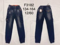 EX1407 Jeansowe chlopiece F3182