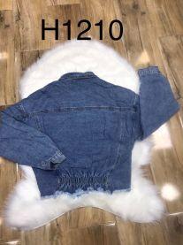 EX1703 Kurtka jeans damska H1210