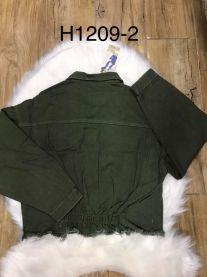 EX1703 Kurtka jeans damska H1209-4