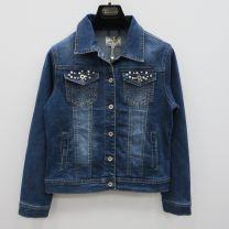 EX3107 Kurtka jeans damska DM1745
