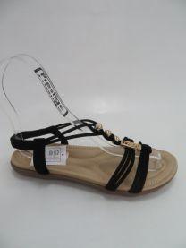 EX0707 Sandały damskie FY2038BLACK