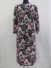 EX0304 Sukienka damska B4297  (Produkt Polski)