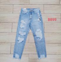 EX0604 Jeansowe damska B899