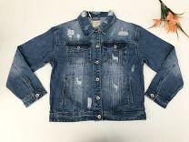 EX2203 Kurtka jeans damska D3362