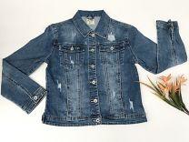 EX2203 Kurtka jeans damska D3360