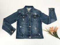 EX2203 Kurtka jeans damska D3344