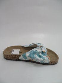 EX1607 Klapki damskie FRS54-BLUE