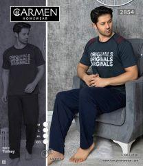 EX0604 Piżama męskie D2854  (Produkt Turkey)