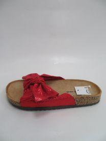 EX1607 Klapki damskie FRS56-RED
