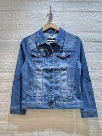 EX2402 Kurtka jeans damska +5926
