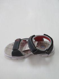 EX1006 Sandały dziecięce KF-08 NAVY/RED